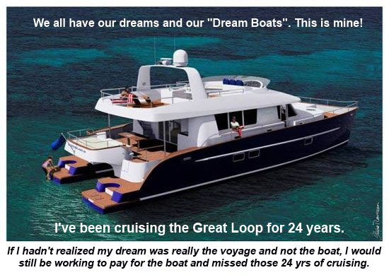thoughts on a dream boat