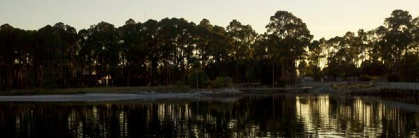 boating the beautiful Waccamaw River on the ICW