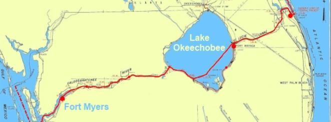 lake okeechobee fishing map gallery