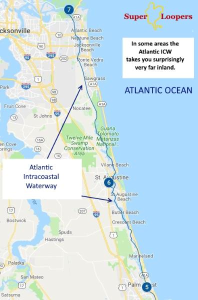 How to cruise the ICW - Intracoastal Waterway Dc Map Of Waterways on map of dc highways, map of dc transit, map of dc airport locations,